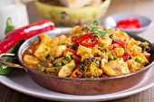 image of vegan  - Vegan curry with tofu - JPG