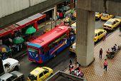 Traffic in Medellin, Colombia