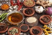 pic of mixture  - Ingredient mixture may include a variety of ingredients from cumin - JPG