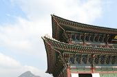 Korean Traditional Architecture Sky Roof