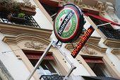 Sign of Heineken beer