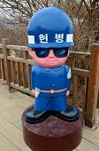 Mascot soldiers  Korean Demilitarized Zone