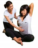 Yoga Lesson For Pregnant Woman
