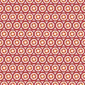 Abstract vector seamless circle and line pattern