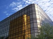 Gold Office Building