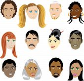 People Faces 1