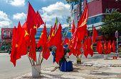 Vietnam National Flags for sale in the Independence Day