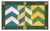 Grunge Flag Of Cumbria (great Britain)