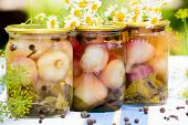 Canned Pickled Garlic For The Winter