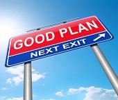 Good Plan Concept.