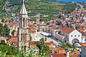 Historic Town Of Hvar Stone Architecture