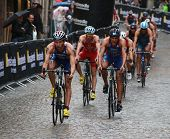 Itu World Triathlon Series Event, Cycle
