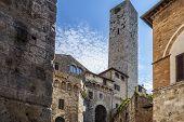 Typical Village Of San Gimignano