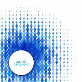 Halftone Banner Design Element. Vector illustration.