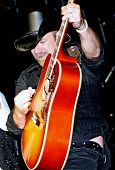 Kristian Bush Playing Guitar