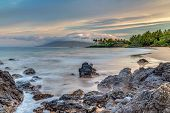 Maui's Secret Beach At Sunrise