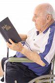 handicap elderly man daily devotion