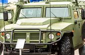 VPK-233115 Tiger-M armored vehicle. Russia