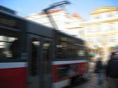 Tram Blurred