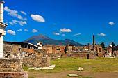Ruined Building In Pompei