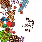 Game sketch background