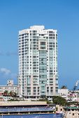 foto of san juan puerto rico  - Luxury condos along the coast of Puerto Rico in San Juan - JPG