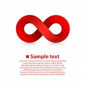 stock photo of infinity  - Symbol of infinity art info - JPG
