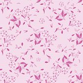Seamless floral vector pattern for disign.