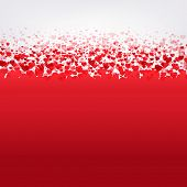 Happy Valentines Day Card With Gradient Mesh, Vector Illustration