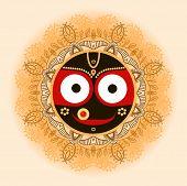 picture of lord krishna  - Jagannath - JPG