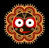 foto of lord krishna  - Jagannath - JPG