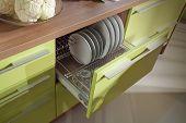 Simple Kitchen Furniture Macro Photo