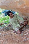 Indonesian Boat Builder