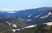 Nice winter scene in mountains, Slovakia