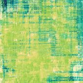 Abstract blank grunge background, old texture with stains and different color patterns: yellow (beige); blue; green; cyan