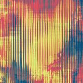 Abstract retro background or old-fashioned texture. With different color patterns: red (orange); yellow (beige); blue; pink
