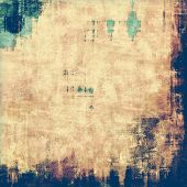 Grunge colorful background or old texture for creative design work. With different color patterns: yellow (beige); blue; brown; green; cyan