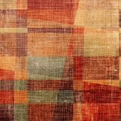 Abstract retro background or old-fashioned texture. With different color patterns: red (orange); yellow (beige); brown; gray