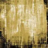 Art grunge vintage textured background. With different color patterns: black; yellow (beige); brown; gray
