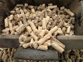 crucible wood pellets