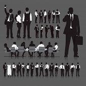 Corporate Business Teamwork Meeting Partnership Vector Concept