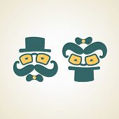 Businessman And Baby Logo