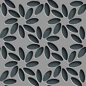 Seamless Flower Pattern. Vector Background
