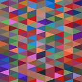 picture of color geometric shape  - Colorful Triangle Abstract Background - JPG