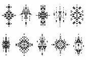 picture of tribal  - Vector Tribal elements - JPG