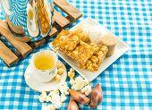 foto of brazilian food  - Delicious prepared for the famous Brazilian Festa Junina  - JPG