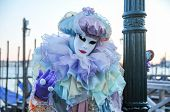 picture of venice carnival  - Traditional Carnival Venice mask with Colorful Decoration