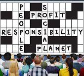 foto of ethics  - Social Responsibility Reliability Dependability Ethics Concept - JPG