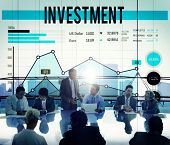 stock photo of revenue  - Invest Investment Fund Revenue Income Concept - JPG