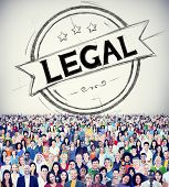 stock photo of ethics  - Legal Legalisation Laws Justice Ethical Concept - JPG